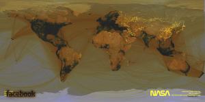 Facebook Use / Earth At Night