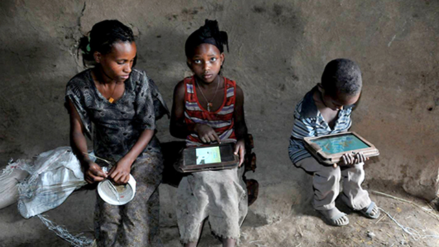 One Laptop Per Child Recipients in Ethiopia
