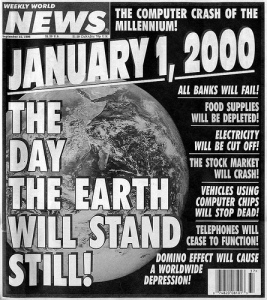 Weekly World News Y2K Hysteria