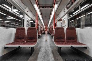 Prague Metro Car