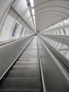 Deepest Escalator to Metro Station in Europe: Prague